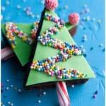 Easy Christmas Brownies Recipe (Christmas Tree Brownies)