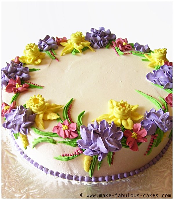 Number  Cake Ideas With Butter Icing