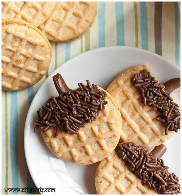 how to make acorn cookies