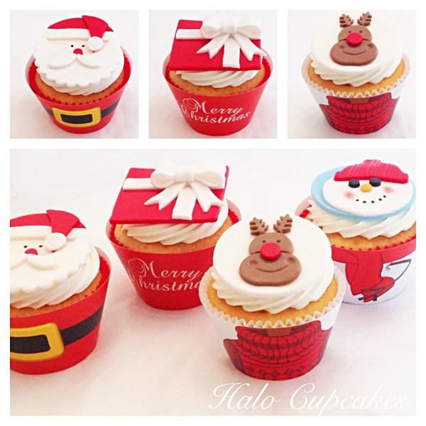 How To Make A Santa Cupcake Cake