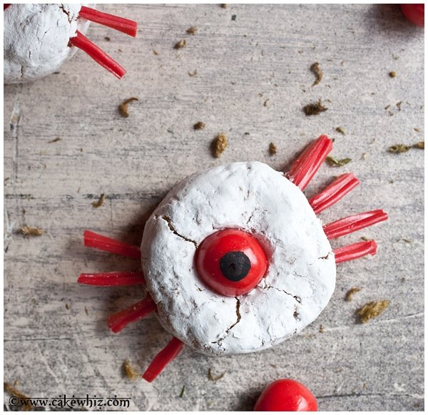 One eyed spider donettes