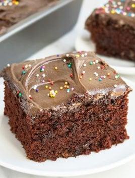 Chocolate Depression Cake (Wacky Cake Recipe)