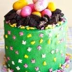 Easy Easter Egg Cake Tutorial