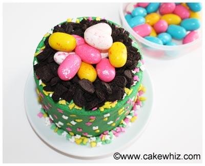 easter egg cake 11