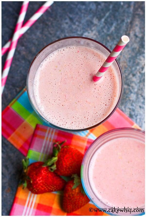 Strawberry Rose Smoothie Recipe 2
