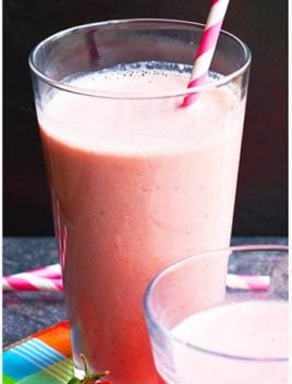 Strawberry Rose Smoothie Recipe