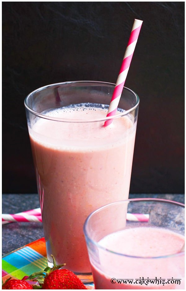Strawberry Rose Smoothie Recipe 3