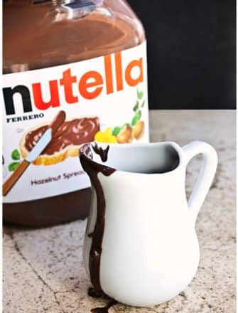 Easy Nutella Syrup Recipe (2 Ingredients)