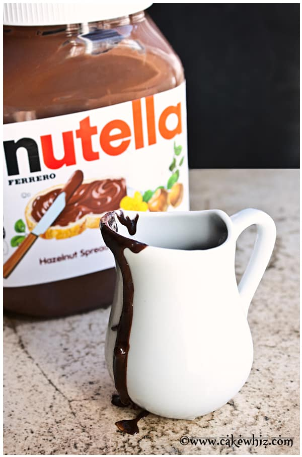 Nutella Syrup 2 Ingredients Cakewhiz