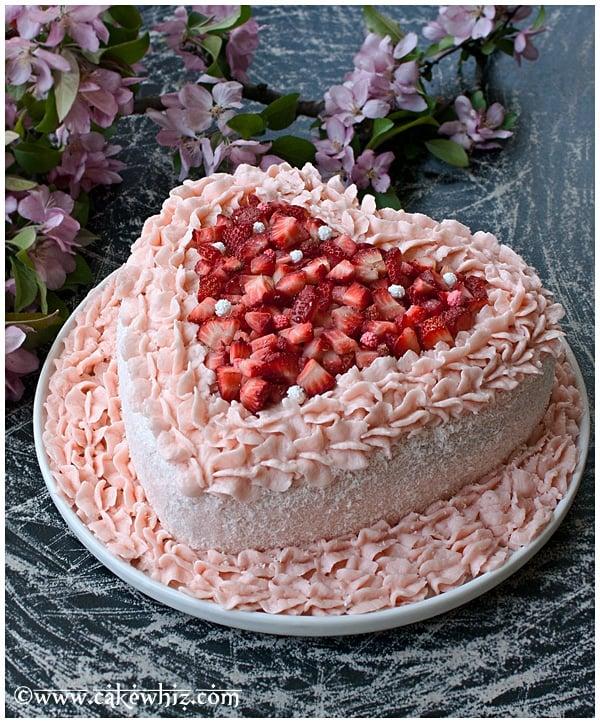 Pink Velvet Cake Images : Pink Velvet Cake