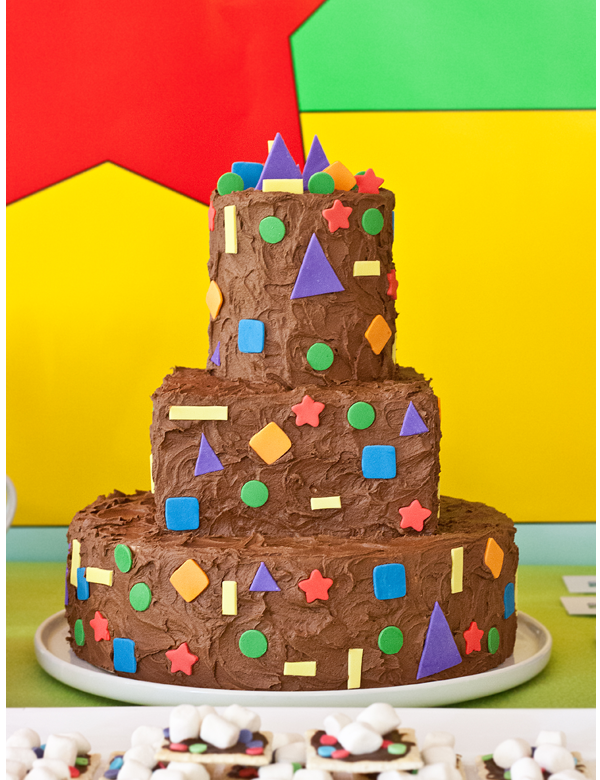 shapes and colors birthday party