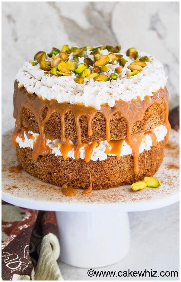 Chai Tea Spice Cake Recipe 1