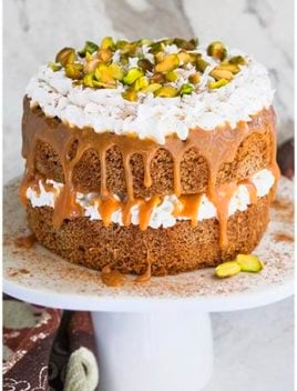 Easy Chai Tea Spice Cake Recipe With Cream Cheese Frosting