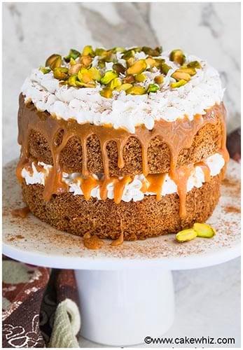Chai Tea Spice Cake Recipe