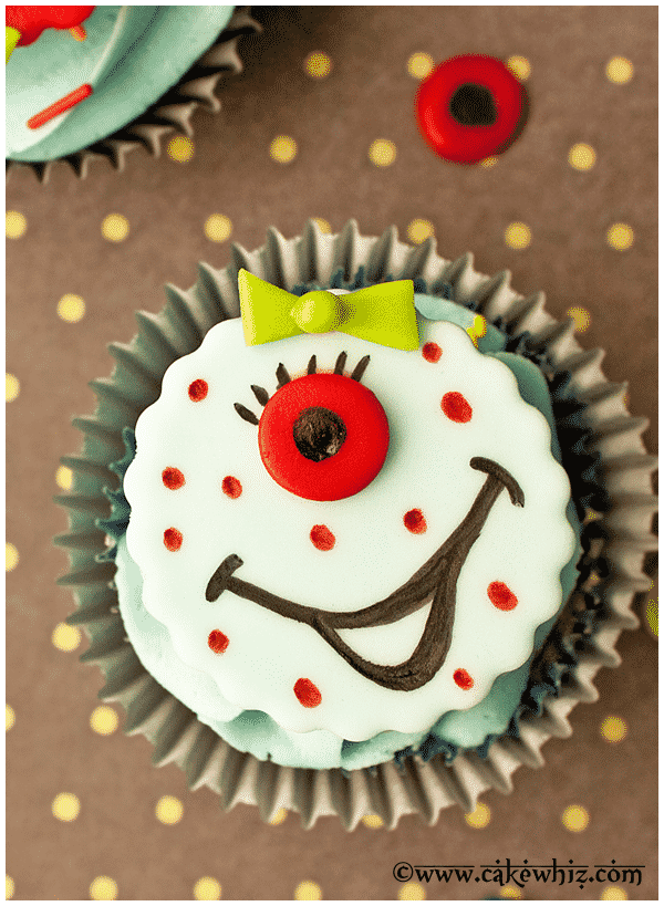 how to make monster cupcakes 2