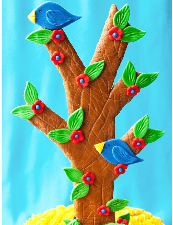 how to make a chocolate tree