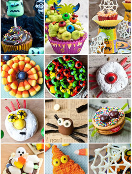 Easy Halloween Cupcake Ideas and Edible Halloween Cupcake Toppers
