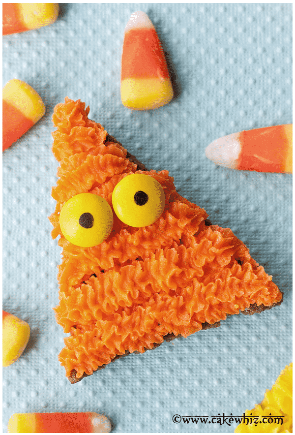 candy corn monster cookies 3