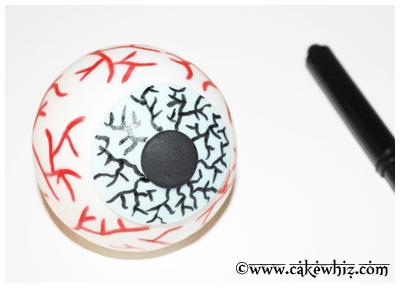easy eyeball cake tutorial 11