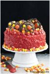 halloween candy cake 8