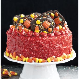 Easy Halloween Candy Cake