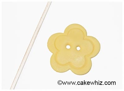 how to make easy fondant buttons 27