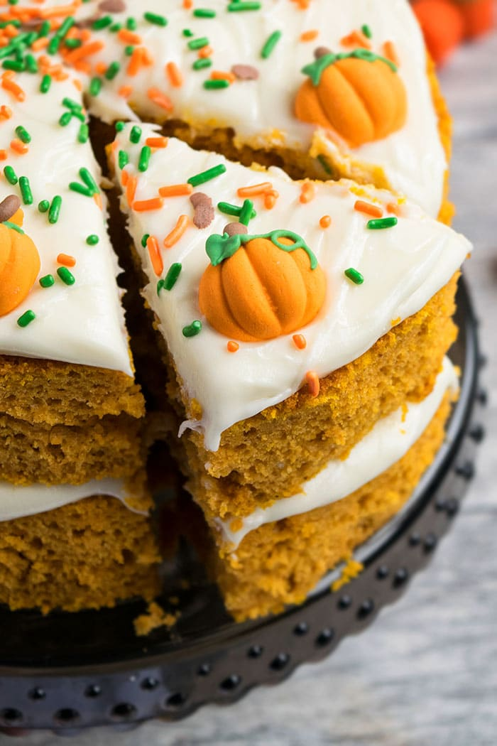 Easy Pumpkin Spice Cake With Cake Mix