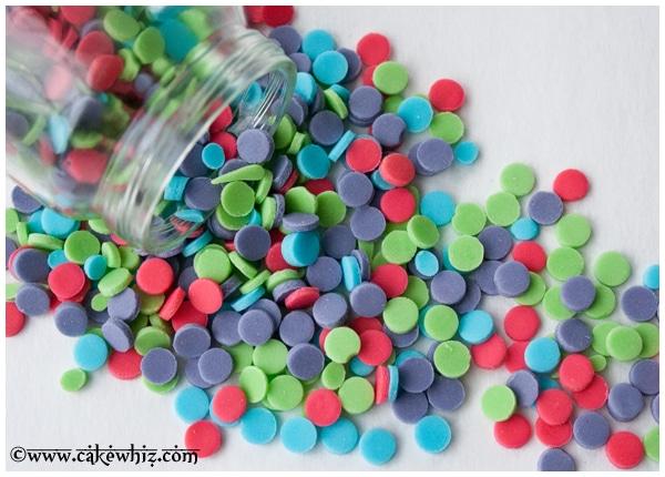 homemade confetti sprinkles