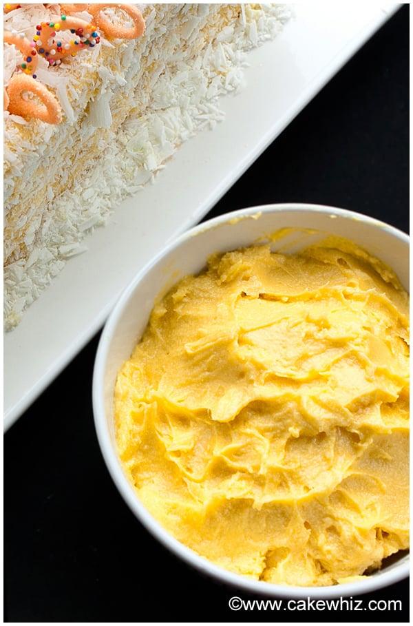 Mango Cake Frosting Recipe