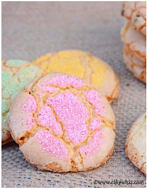 crackly sugar cookies