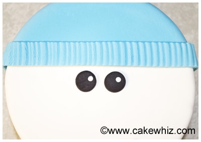how to make a snowman cake 54