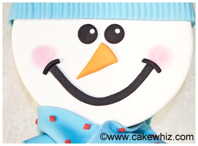 how to make a snowman cake 55