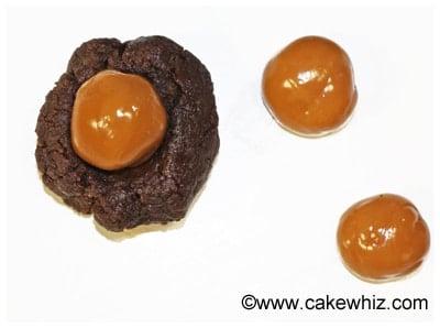 mocha caramel cookie dough truffles 24