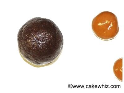 mocha caramel cookie dough truffles 25