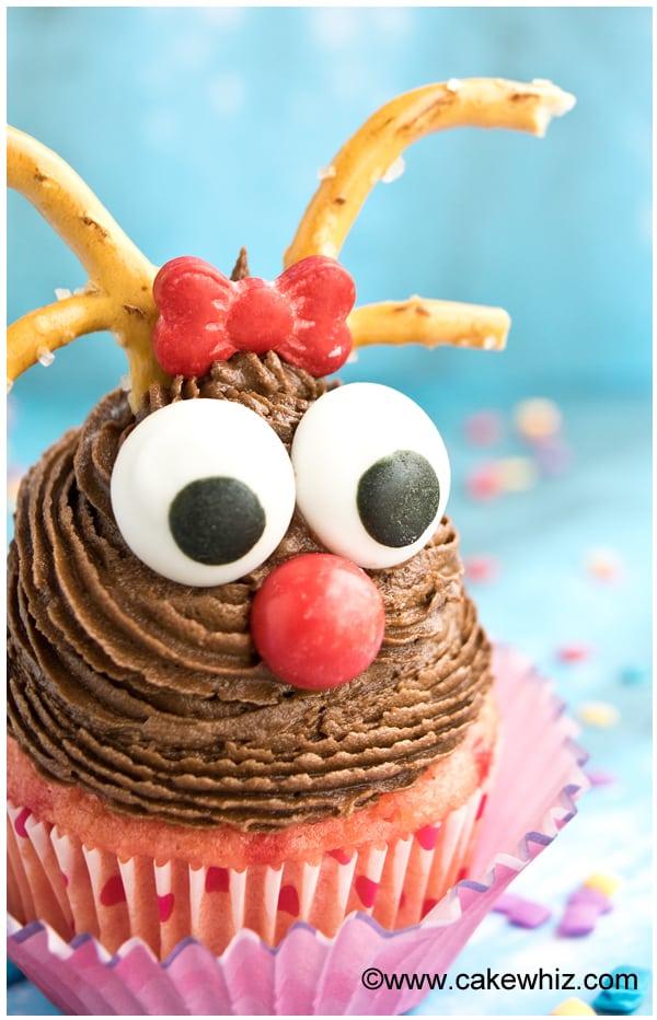 rudolph reindeer cupcakes 3