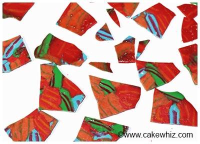 candy cane shards cake 24