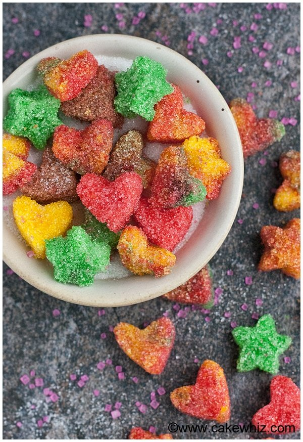 how to make sugar hearts and sugar stars 3