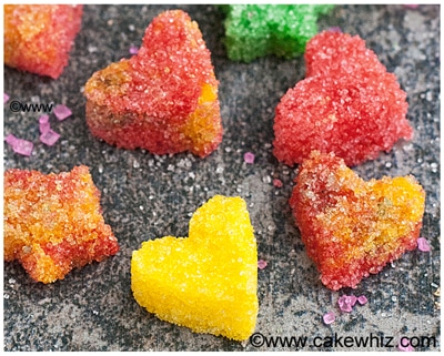 how to make sugar hearts and sugar stars 30