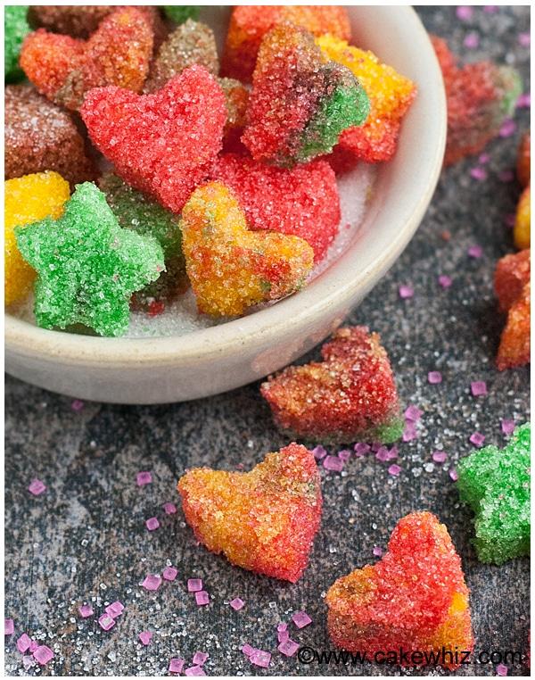 how to make sugar hearts and sugar stars 5
