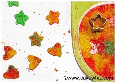 how to make sugar hearts and sugar stars 9