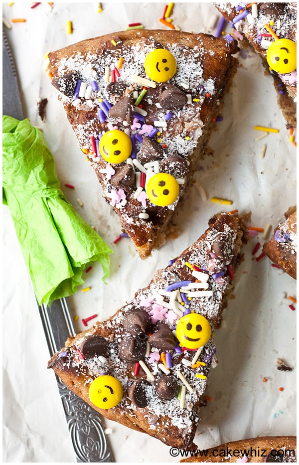 best banana chocolate chip cake 4