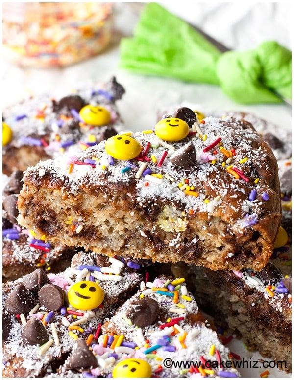 best banana chocolate chip cake 8