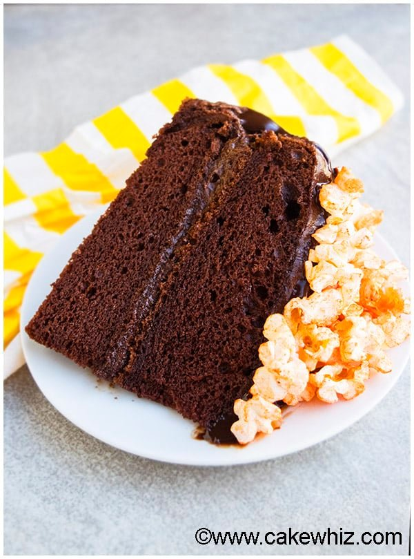 Chocolate Popcorn Cake Recipe 03