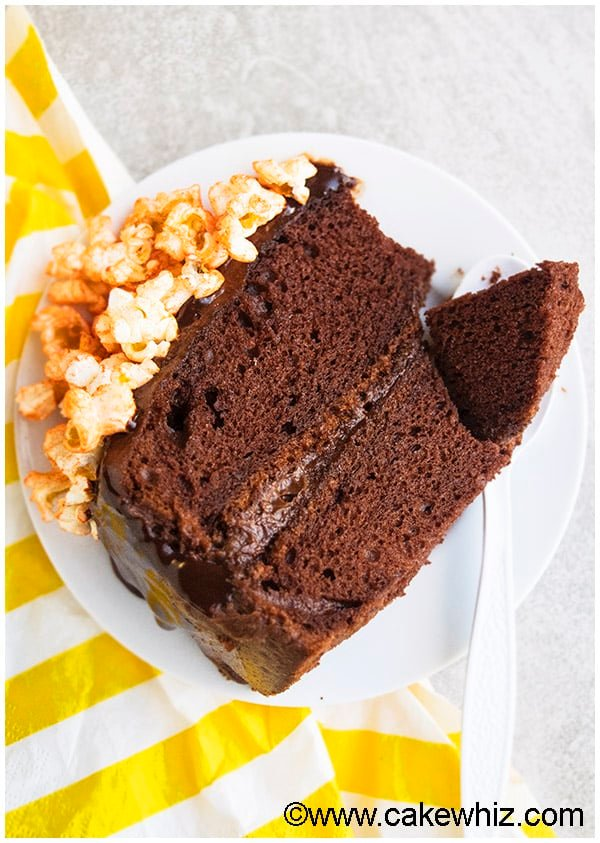 Chocolate Popcorn Cake Recipe 04