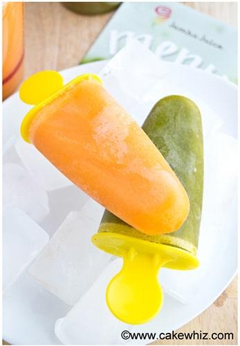 Easy juice popsicles 4