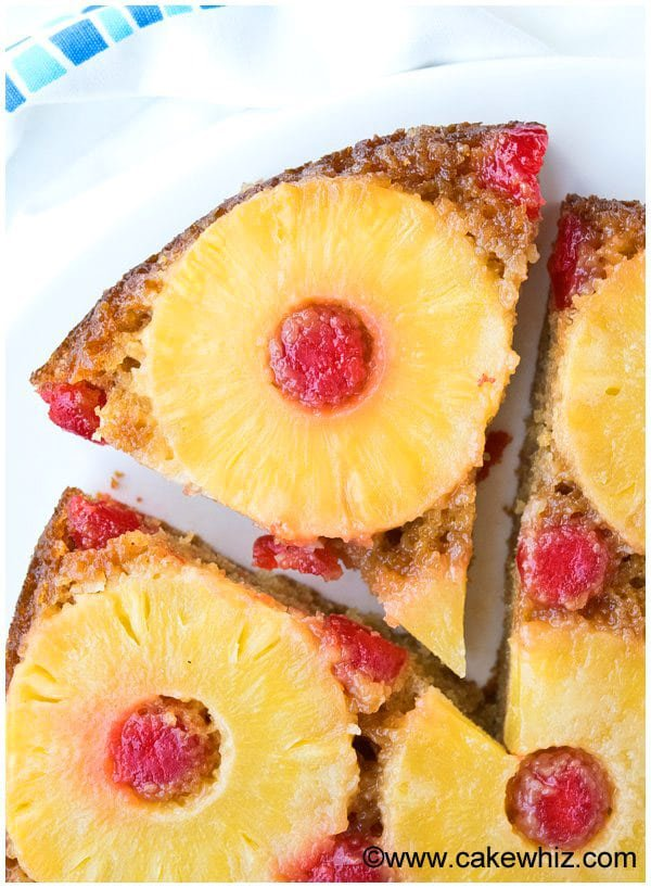Homemade Pineapple Upside Down Cake Recipe From Scratch 3