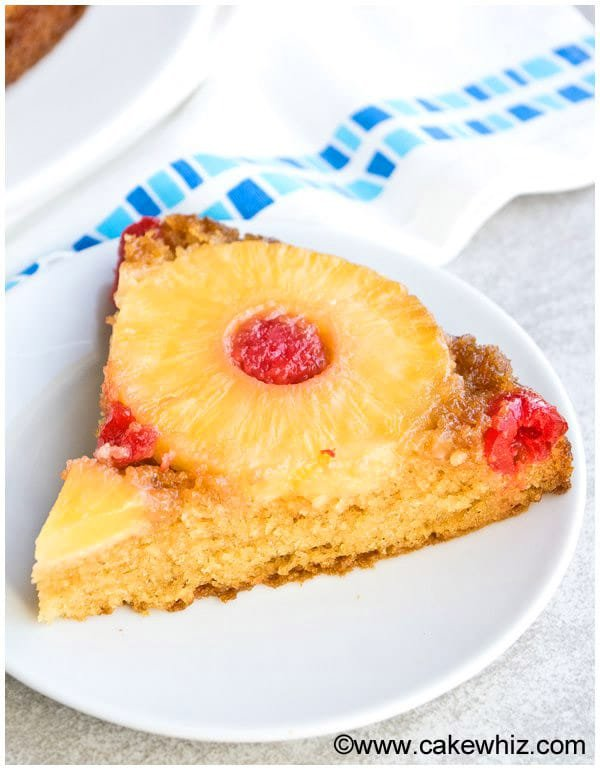 Homemade Pineapple Upside Down Cake Recipe From Scratch 4