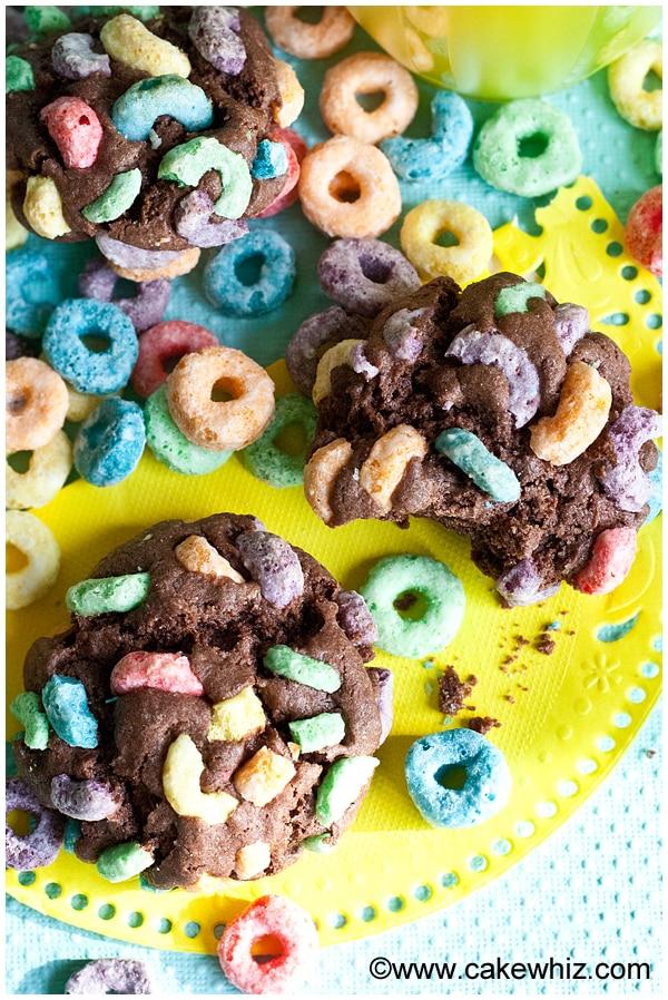 fruit loops chocolate cookies 1
