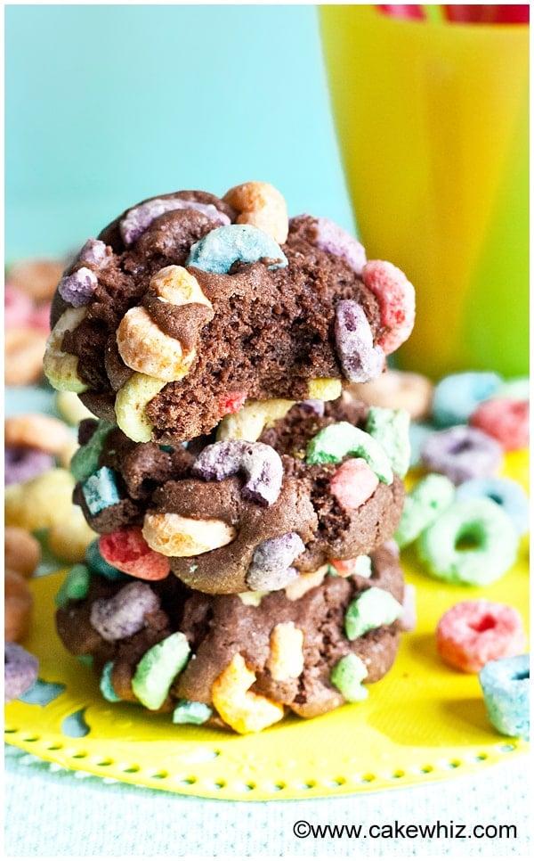 fruit loops chocolate cookies 11