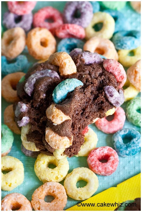 fruit loops chocolate cookies 6
